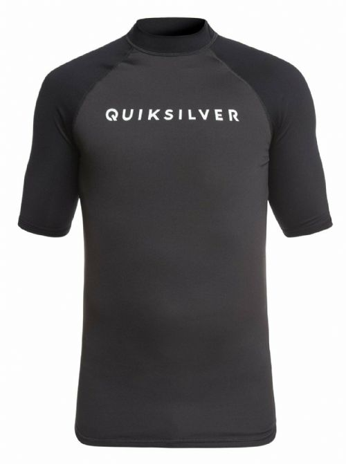 QUIKSILVER MENS RASH VEST.NEW ALWAYS THERE UPF50+ RASHGUARD TOP T SHIRT 9S 42KT